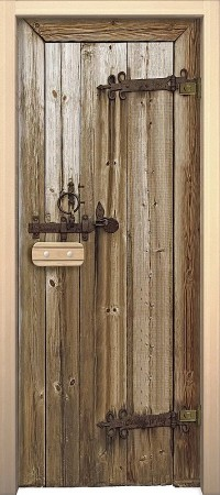 """Дверь для сауны """"Дерево"""""""
