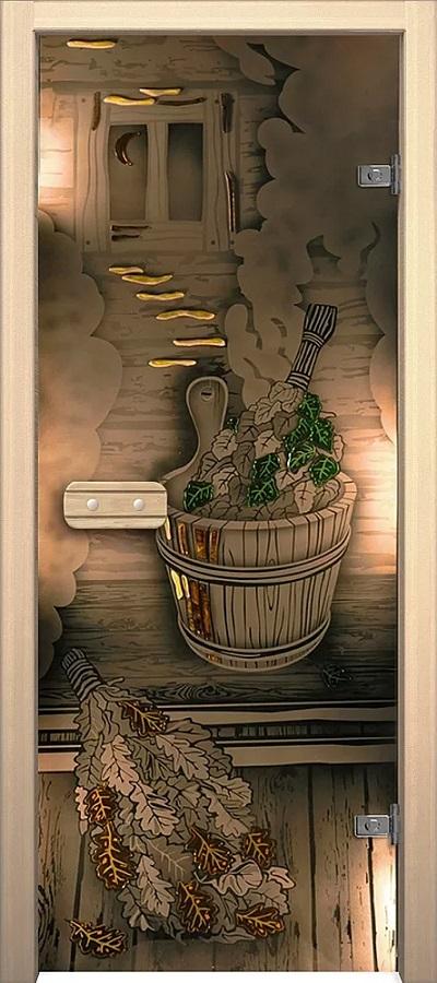 """Дверь для сауны """"Парилка"""""""